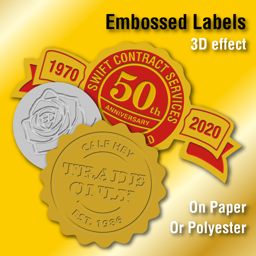 Embossed Labels 0